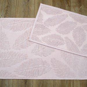 купить Набор ковриков Irya - Levin pudra Розовый фото