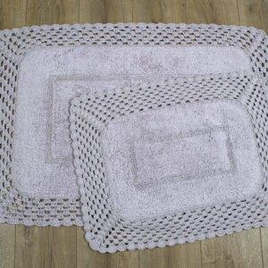 купить Набор ковриков Irya - Lizz lila Сиреневый фото