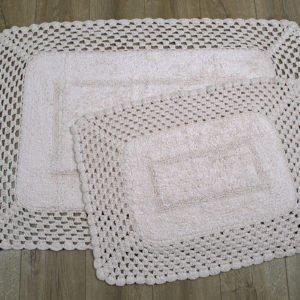 купить Набор ковриков Irya - Lizz pembe Розовый фото
