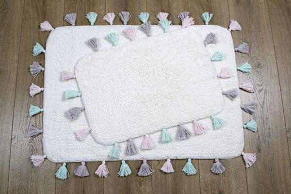 купить Набор ковриков Irya - Lucca ekru Кремовый фото