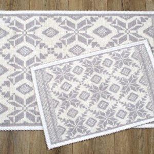 купить Набор ковриков Irya - Marlina bej Серый фото