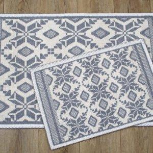 купить Набор ковриков Irya - Marlina gri Серый фото
