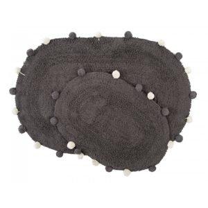 купить Набор ковриков Irya - Melora antrasit Черный фото