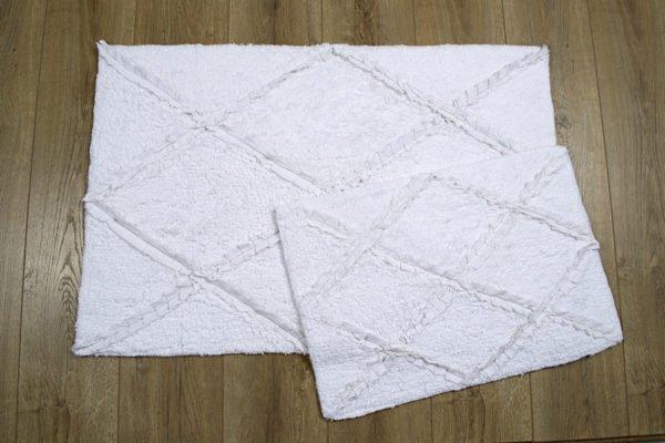 купить Набор ковриков Irya - Nadia beyaz Белый фото