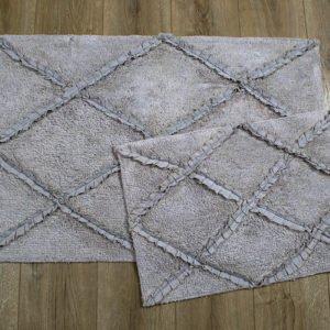 купить Набор ковриков Irya - Nadia gri Серый фото