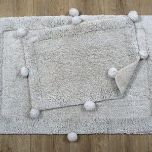 купить Набор ковриков Irya - New Stria gri Серый фото