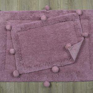 купить Набор ковриков Irya - New Stria mor Сиреневый фото