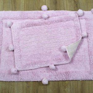 купить Набор ковриков Irya - New Stria pembe Розовый фото