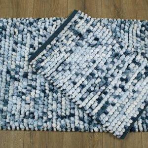 купить Набор ковриков Irya - Ottova turkuaz Синий фото