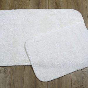 купить Набор ковриков Irya - Tile ekru Белый фото