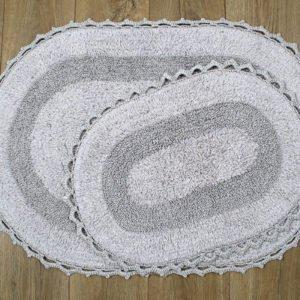 купить Набор ковриков Irya - Vermont a.gri Серый фото