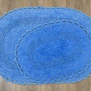купить Набор ковриков Irya - Vermont lacivert Синий фото
