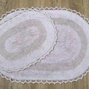 купить Набор ковриков Irya - Viola lila Бежевый фото