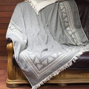 купить Плед-накидка Barine Mono Throw grey Серый фото