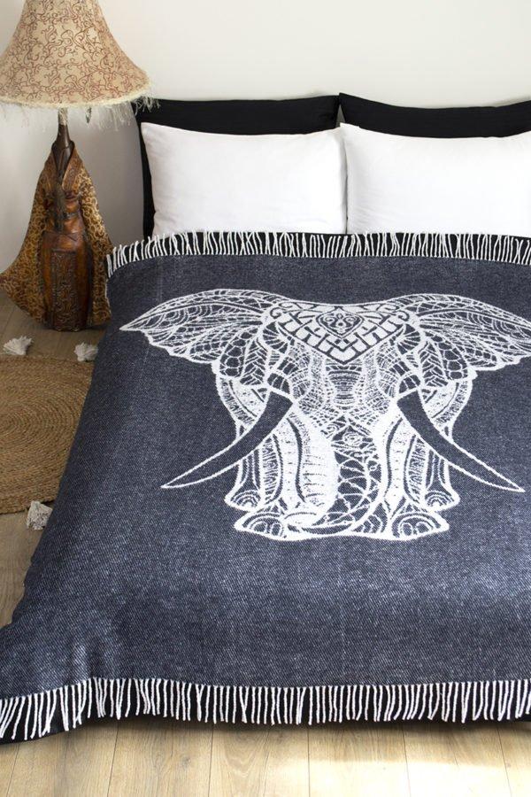 купить Плед Lotus Zeus - Elephant антрацит Серый фото