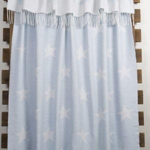 купить Плед Lotus Zeus - Stars голубой Голубой фото