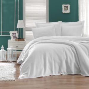купить Покрывало пике Enlora Home Casuel beyaz Белый фото