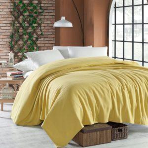 купить Покрывало пике Enlora Home Casuel hardal Желтый фото