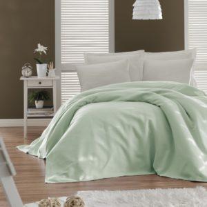 купить Покрывало пике Enlora Home Casuel mint Ментоловый фото