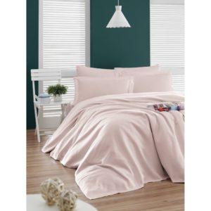 купить Покрывало пике Enlora Home Casuel pudra Розовый фото