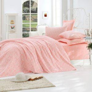 купить Покрывало пике Eponj Home Duille somon Розовый фото