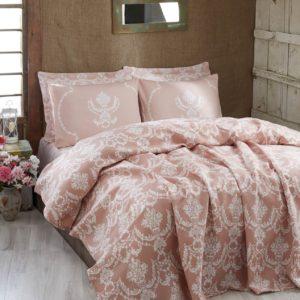 купить Покрывало пике Eponj Home Pure pudra Розовый фото