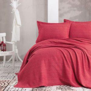 купить Покрывало с наволочками Eponj Home пике Venus kirmizi Красный фото