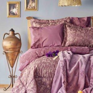 купить Покрывало с наволочками Karaca Home Vivien murdum 2020-1 Фиолетовый фото