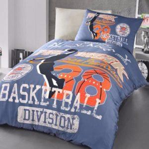 купить Постельное белье First Choice ранфорс молодежный basket Синий фото