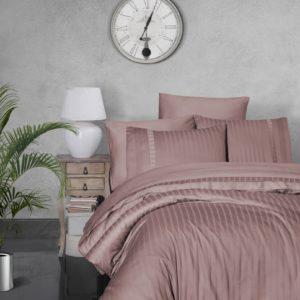 купить Постельное белье First Choice сатин Де Люкс new trend pudra Розовый фото