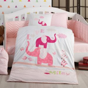 купить Детское постельное белье Hobby Pretty pink Розовый фото