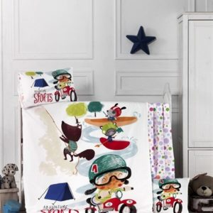 купить Детское постельное белье Lighthouse Adventure Кремовый фото