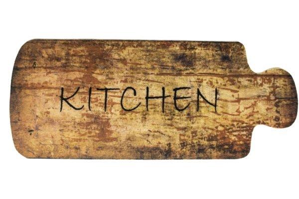 купить Коврик для кухни Cooky 50*125 Kitchen Wood Коричневый фото