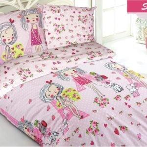 купить Комплект постельного белья Zugo Home ранфорс She Розовый фото