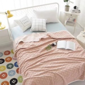 купить Плед-Покрывало Prestij Textile Розовый Розовый фото