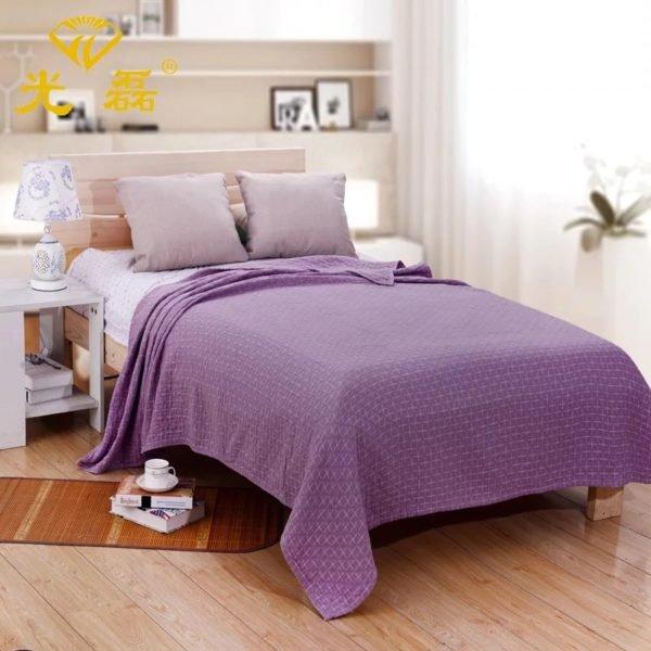купить Плед-Покрывало Prestij Textile Сканди Фиолетовый фото