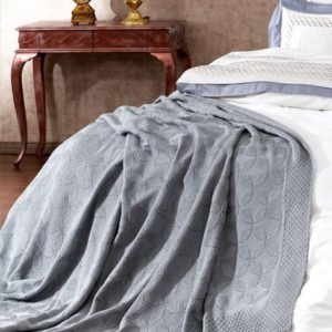 купить Плед-Покрывало Royal Nazik Серый Серый фото