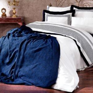 купить Плед-Покрывало Royal Nazik Синий Синий фото