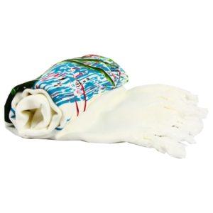купить Пляжное Полотенце Bamboo Peshtemal 90*180 Flamingo New Кремовый фото