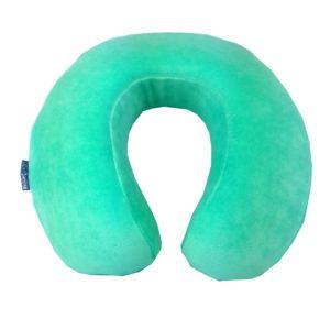 купить Подушка для путешествий Ortopedia Travel Color 34*33*10 mint Ментоловый фото