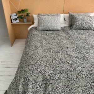 купить Покрывало Жаккард Prestij Textile Valkiria Grey Серый фото
