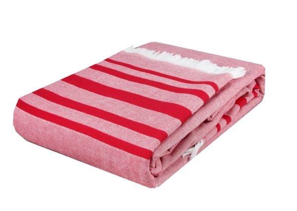 купить Покрывало Махровое Hobby Retro Peshtemal 200*220 Розовый Розовый фото