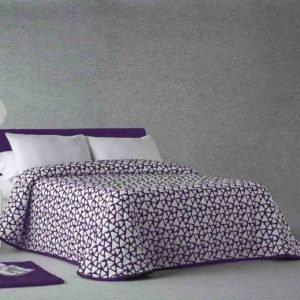 купить Покрывало двустороннее Zebra Onix 57 Фиолетовый фото
