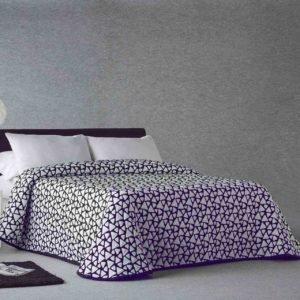 купить Покрывало двустороннее Zebra Onix 67 Фиолетовый фото