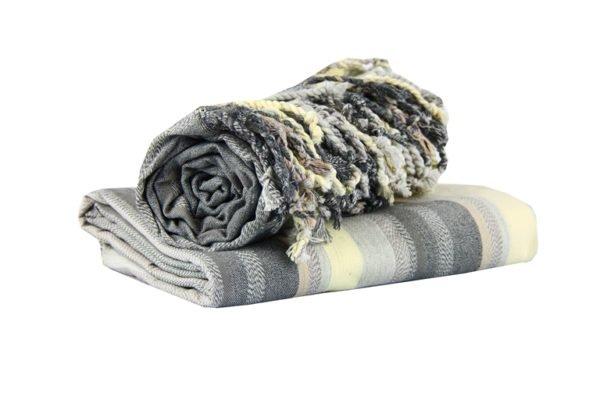купить Полотенце-Подстилка Для Отдыха 100*180 Диз.№2 Серый фото