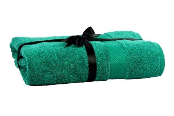 купить Полотенце Euro Set Dark Green Бирюзовый фото