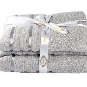 купить Полотенце NISA серый 100*150 Серый фото