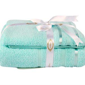 купить Полотенце NISA blue 100*150 Голубой фото