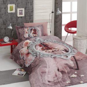 купить Постельное белье First Choice сатин 3d молодежный violin Розовый фото