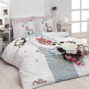 купить Постельное белье First Choice vip сатин 3d 200х220 amara Розовый фото